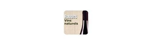 Vins rouges naturels